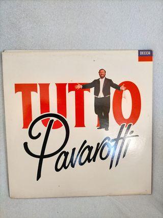 Vinilo Tutto Pavarotti 2 Álbumes musical