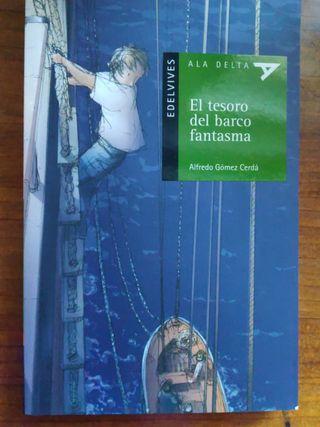 Libro El tesoro del barco fantasma