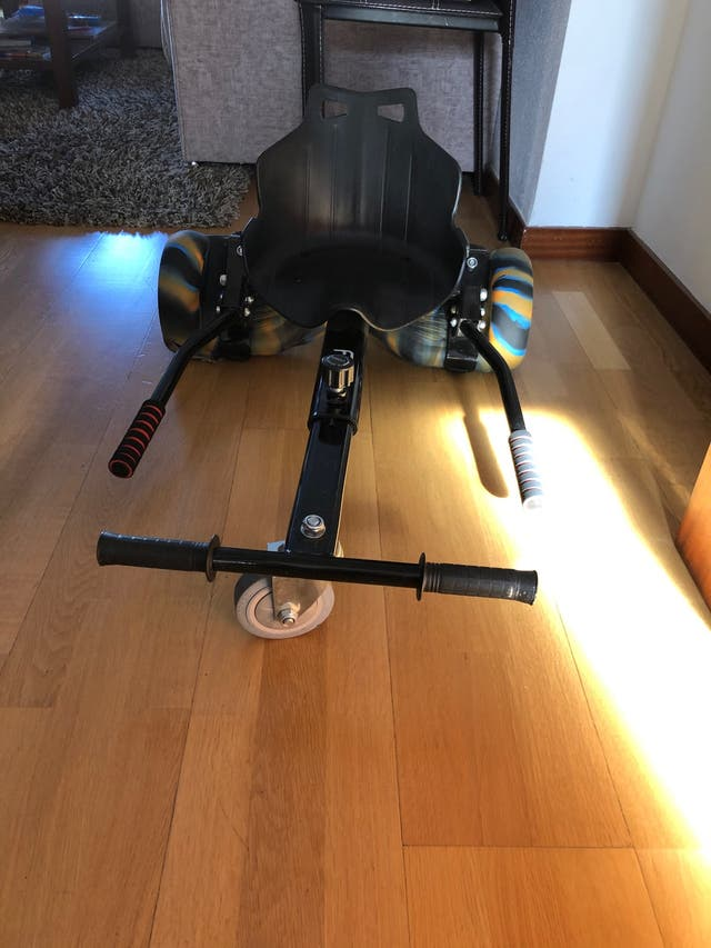 Hoverboard Con Silla Incluida De Segunda Mano Por 128 En Toledo En Wallapop