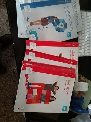 Libros de tercero de primaria en muy buen estado