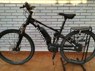 Bici doble suspensión motor Shimano 70Nm