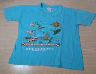 3 Camisetas de Niño- 2 años