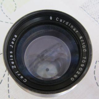Objetivo Carl Zeiss Jena Cardinard 4/100