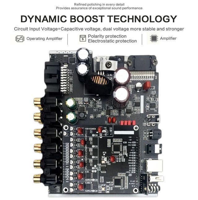 Amplificador DSP Sennuopu DP-X10 NUEVO A ESTRENAR