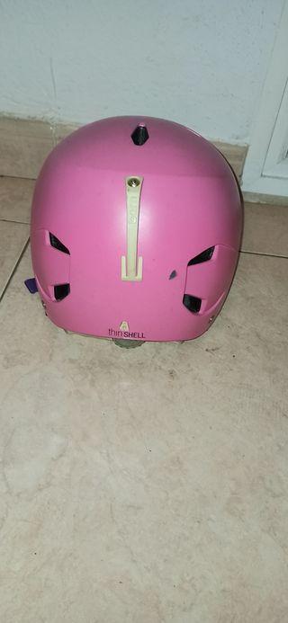 casco snowboard mujer o chica marca bern