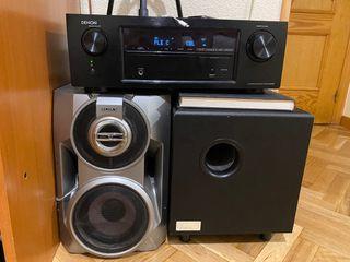 Sistema audio home cinema