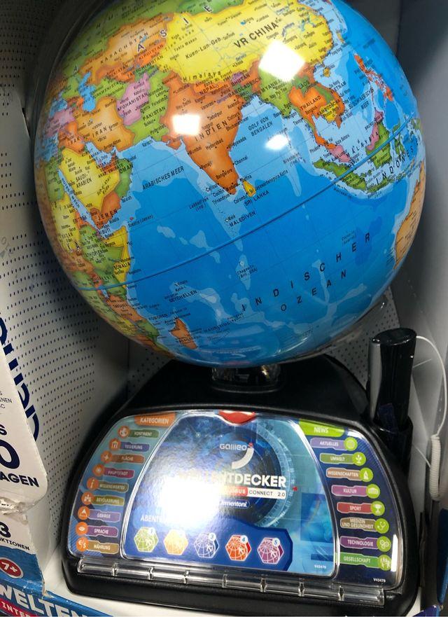 Globo terráqueo Galileo Science (en alemán)
