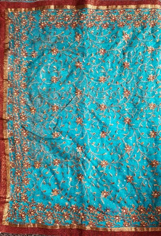 Traditional Net Saree