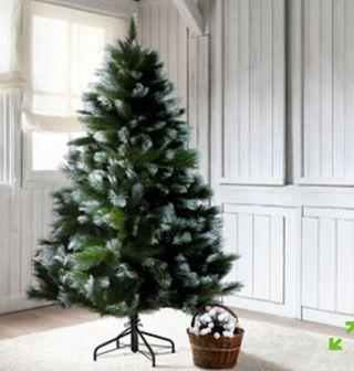 Árbol de Navidad Montgomery nevado