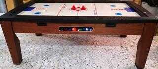 Mesa billar air hockey.