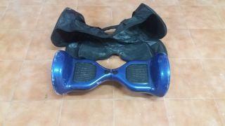 Hoverboard Fitfiu, motor Samsung 500W, altavoz blu