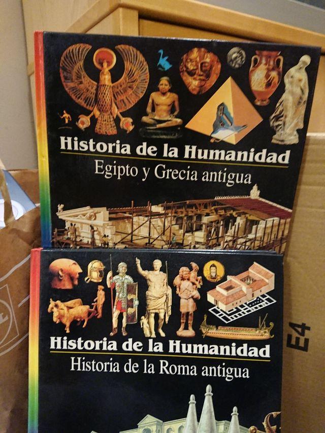 Libros Historia de la Humanidad. Roma, Egipto y Gr