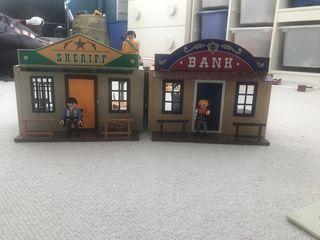 Playmobil - Maletín Ciudad del Oeste-Banco