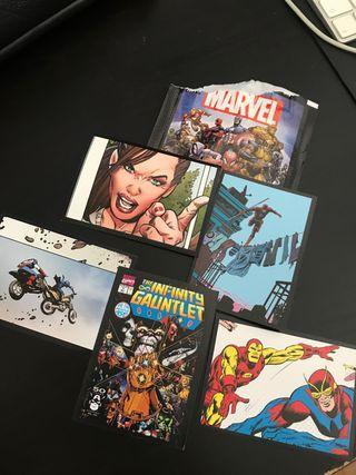 Marvel pegatinas Anniversary Panini