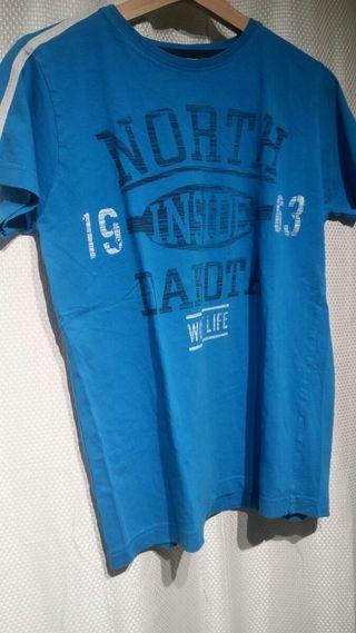 Camiseta de chico celeste - Inside