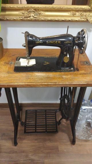 máquina de coser singer en perfecto estado funcion