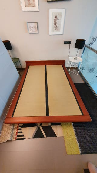 Tatami japonés con colchón