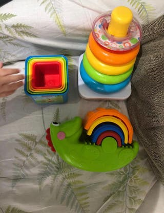 Pack juguetes para bebe