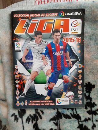 Álbum temporada 2015-2016 La liga (Liga BBVA