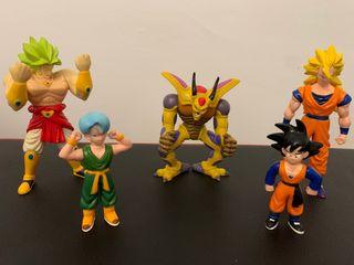 Dragon ball muñecos