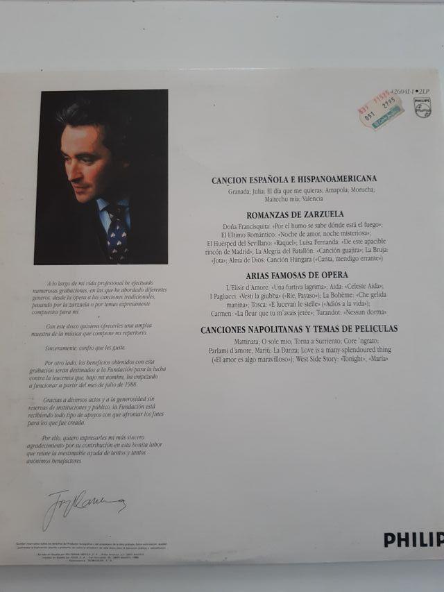 Set LPs Carrera, Domingo y Pavarotti.
