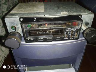Radio casset Punto Azul
