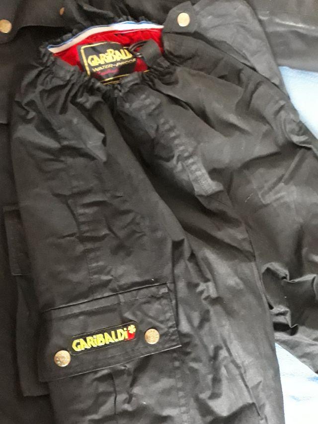 Chaqueta y pantalón Garibaldi