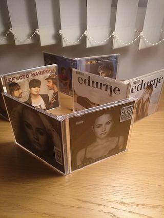 CD Efecto Mariposa, Edurne, Fran, Demi. 3€/ unidad