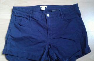 Short de mujer Azul marino - H&M - Talla M