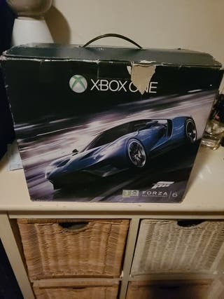 XBOX ONE 1tb edición FORZA MOTORSPORT 6