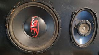 Conjunto audio coche