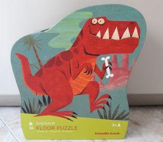Puzzle Dinosaurios crocodile creek