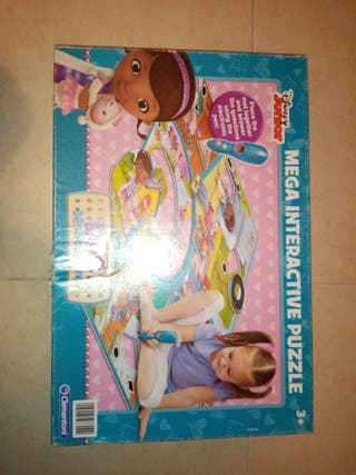 puzzle doctora juguetes