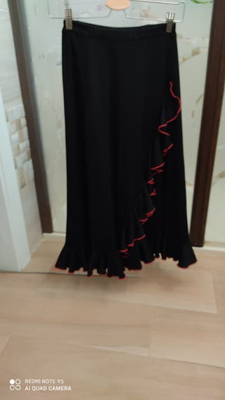 Falda flamenca niña 10-12 años