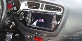 "KIA Ceed (JD) 2012-2018 Auto-radio Navegador 8"""
