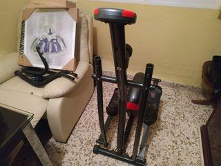 Elíptica bicicleta para soldar