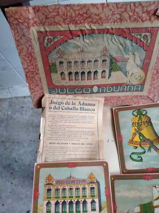 antiguo juego Aduana