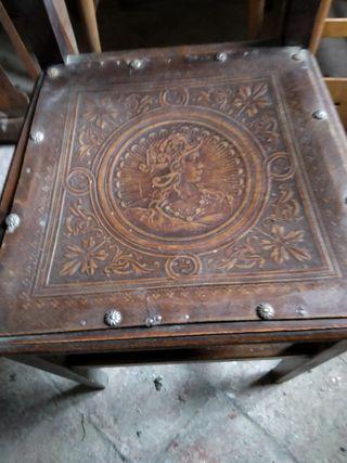 sillas antiguas,4 unidades