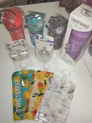 Twistshake Pack Bibes y vasos aprendizaje