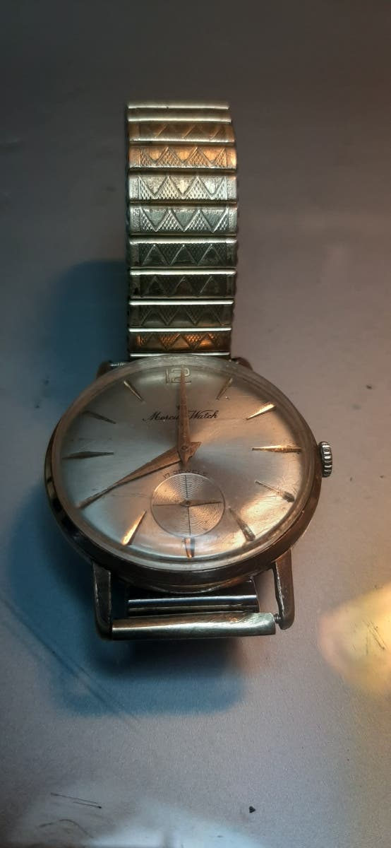 Reloj Mercury Watch manual