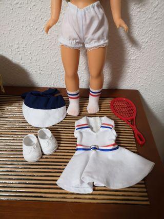 Conjunto completo Nancy tenista 2016.