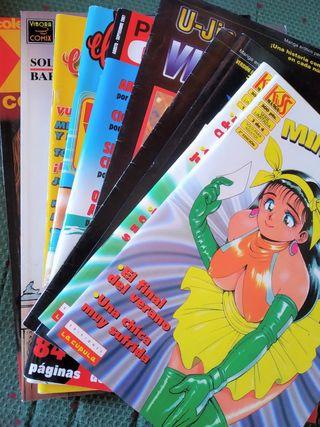 Pack 10 cómics y tomos para adultos. Sólo JUNTOS