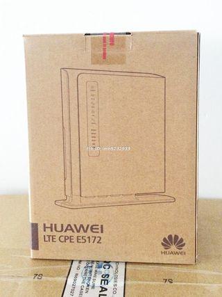 Router 4G LIBRE Huawei E5172 NUEVO PRECINTADO