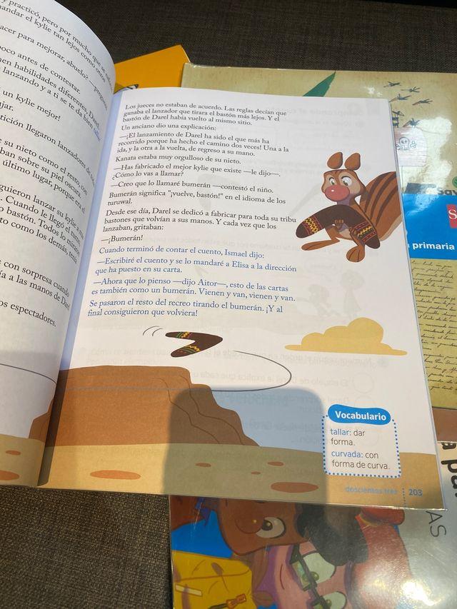 Libros texto Segundo de primaria de lengua