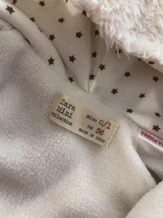 Buzo bebé Osito Zara 0 - 1 meses