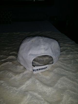 gorra burberry