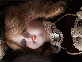 muñeca porcelana antigua RAMÓN INGLÉS