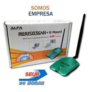 Antena WiFi Alfa AWUS036NH Nueva Somos Empresa 24H
