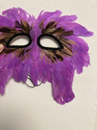 Máscara Veneciana de plumas ÚLTIMO PRECIO: 3€