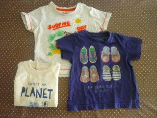 Lote camisetas Mayoral Losan 6 - 9 meses
